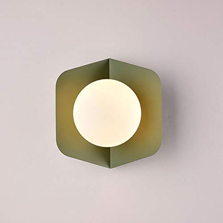 ZR Moderne Wandlampe der modernen kreativen Lampe der Macaron-Süigkeitswindschlafzimmernachtwandwandlampe (Style   C)
