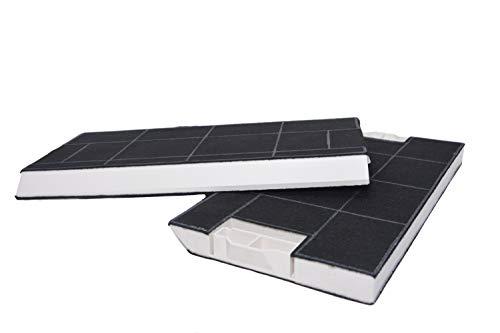 Aktive Kohlefilter geeignet für Dunstabzugshaube Bosch BSHG 00434229 DHZ4506, Siemens LZ45501, Neff Z5144X1, Z5144X5, Constructa CZ5144X5, Gagexakt KF280002 KF280001. (2x Aktivkohlefilter)