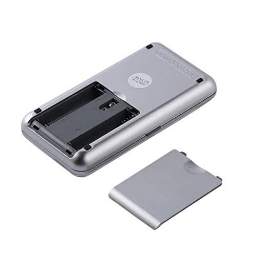 CHOUCHOU Colgante Pendientes Pequeño Bolsillo portátil Mini Escala Balanza de Plataforma joyería Pesada precisa 500g / 0.1g 200g / 0.01g electrónica Digital