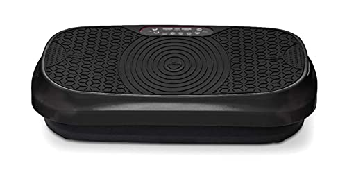 LifePro Waver Mini Vibration Plate - Whole Body Vibration Platform Exercise Machine - Home & Travel Workout Equipment for Weight Loss, Toning & Wellness - Max User Weight 260lbs - Unit Weight 20lbs