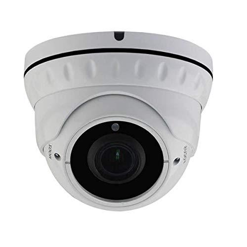 Telecamera IP varifocale Dome Sony POE IR Pro Full HD 5 MP – Ethernet RJ45 di 30 m, alimentazione 12 V
