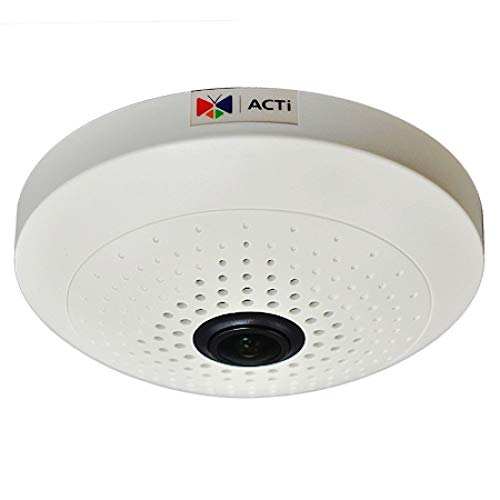 Learn More About ACTi B55 10mp Indoor Fisheye - IP Network Dome Camera Day/Night, Basic WDR, Fixed L...
