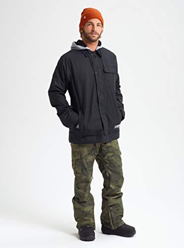 Burton Mens Dunmore Jacket, True Black New, Medium