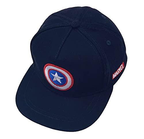 Tables Avengers Logo Baseball Cap, UV Schutz Kappe, für Jungen Mädchen Baseball Cap Mehrfarbig, für Kinder Geschenk, Einheitsgröße B