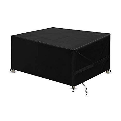 Funda para muebles de jardín N / A con ventilación de aire, protector de muebles de patio,anti-UV, resistente a la rotura de tela Oxford 210D para patio (180 x 120 x 74 cm)