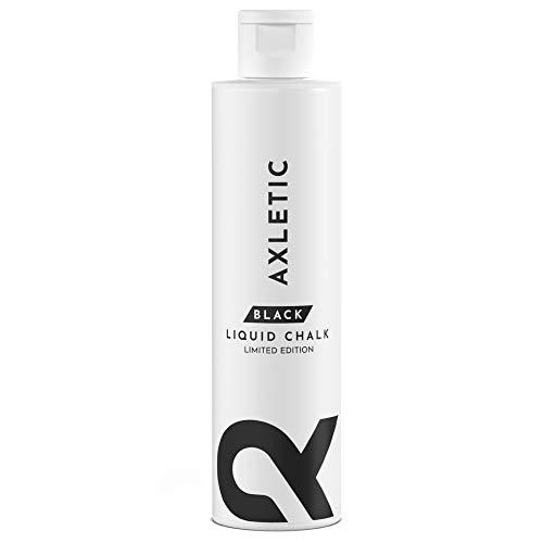 Axletic Magnesite Liquida Nera - Magnesite Liquido per Mani Secche e Presa Sicura - Ideale Magnesite Arrampicata, Grip Pole Dance, Magnesite Crossfit - Alternativa a Magnesite in Polvere, 100 ml