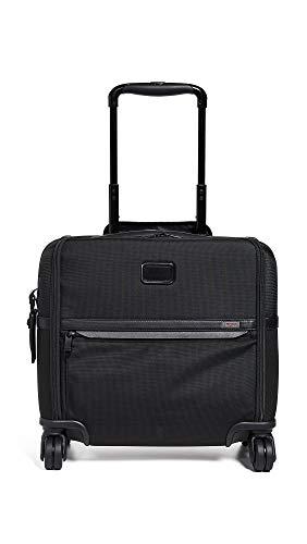 [トゥミ] スーツケース ソフト 公式 正規品 TUMI Alpha 3 コンパクト・4ウィール・ブリーフ 機内持ち込み可 保証付 35L 40.5 cm 4.5kg Black
