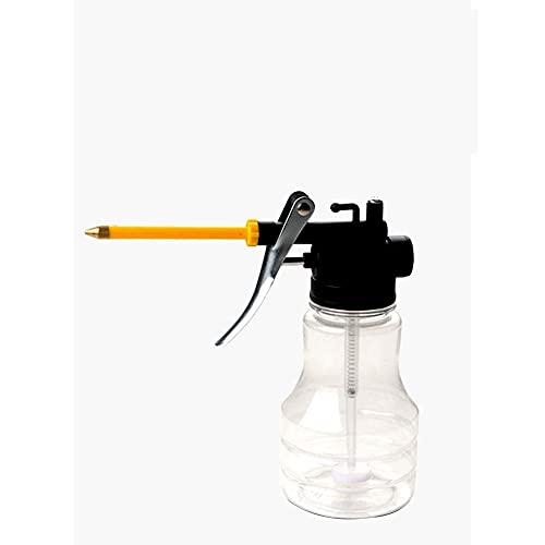 Jjsm Alta PresióN De Aceite Transparente Tanque De Aceite De Alta PresióN De La Bomba De Aceite De PláStico Ajustable Aceite Tanque MáQuina De Aceite 250ml