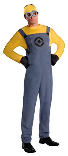 Rubbies - Disfraz de Minion para Hombre, Talla única (887201STD)
