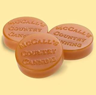 McCall's Country Candles Wax Potpourri Button Set of 6 - Hot Buttered Rum