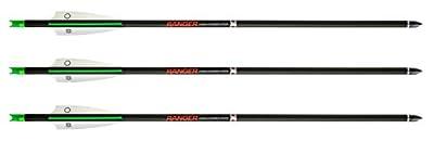 Tenpoint Wicked Ridge Ranger 18-Inch Carbon Crossbow Arrows
