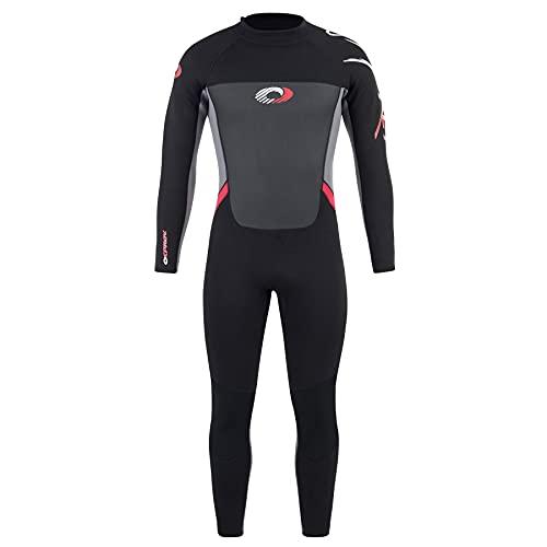 Osprey Men's Full Length 3 mm Summer Wetsuit, Adult Neoprene Surfing Diving...