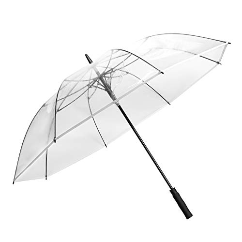 R.HORSE 62Inch Golf Umbrella Transparent Umbrellas Automatic Open Large Windproof Waterproof Stick Umbrellas for Men and Women