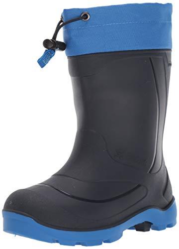 Kamik Boys' Snobuster1 Snow Boot, Navy/Strong Blue, 1 M US Little Kid