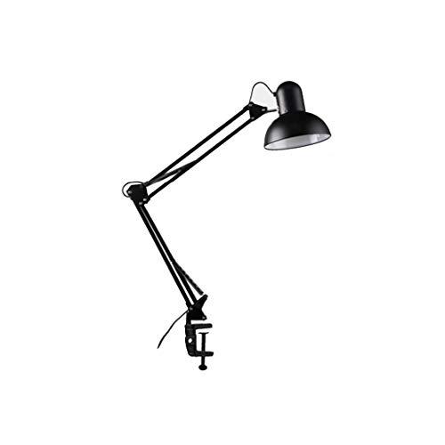 LED lange arm inklapbare oogbescherming tafellamp clip slaapkamer nachtkastje