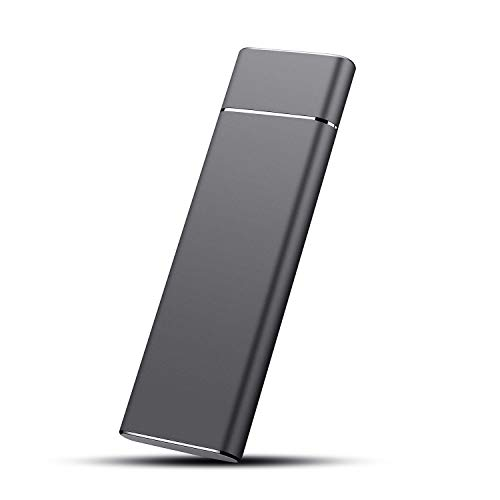 Hard Disk 2 TB Esterno, Hard Disk Esterno Type-C USB 3.1 per PC, Xbox, Desktop, Laptop, Chromebook.(2TB,Nero)