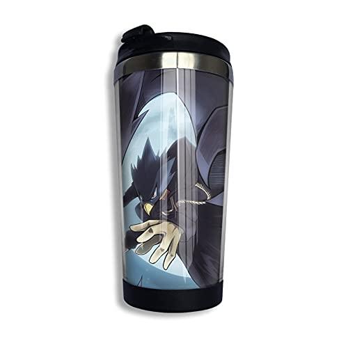SHIJIAN My-Hero Academia-TOKOYAMI - Taza de viaje con aislamiento de acero inoxidable, a prueba de derrames, taza de café aislada, 13 onzas (400 ml)