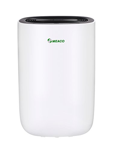 Meaco MeacoDry Dehumidifier ABC Range 10LB (Black panel) Ultra-Quiet, Energy Efficient, Laundry Mode, Auto-off, Auto De-Frost - Ideal for Damp and Condensation in the Home