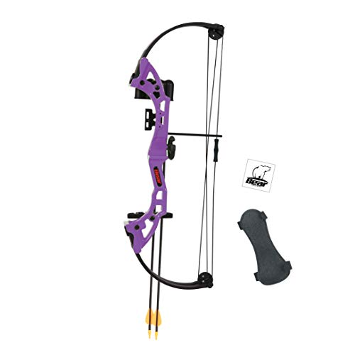Bear Archery Brave Youth Bow – Purple