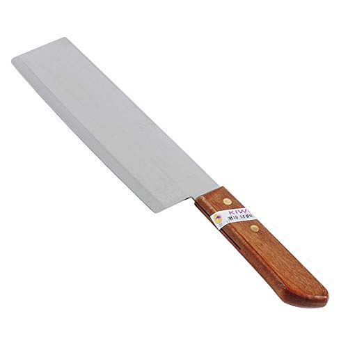 Kiwi Kochmesser mit Holzgriff 31,5cm aus Stahl Messer [#22]