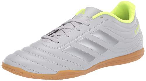 Adidas Copa 20.4 Chaussures de futsal, unisexe, Gris (Gris deux, argent mat, jaune solaire.), 41 EU