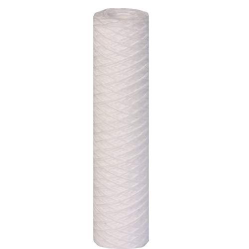 15x Wasserfilter - 10 Zoll 5 micron (µ) Ersatzfilterkartusche Wickelfilter