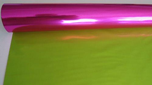 GESCHENKFOLIE pink/apfel 50m Rolle 70cm breit