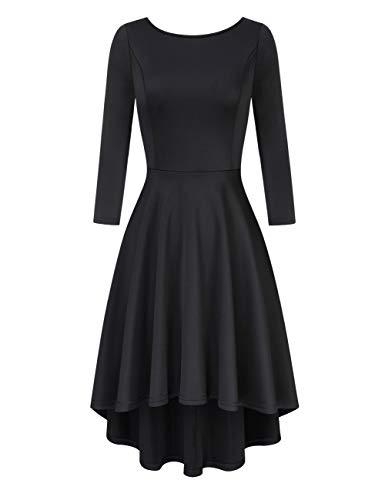 Clearlove Damen Kleider Elegant Cocktailkleid Ärmellos V-Ausschnitt Vintage Abendkleid(Verpackung...