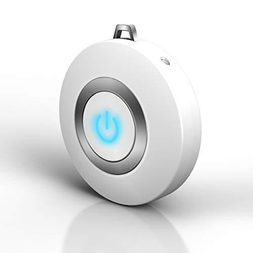 Breathe Green - Mini purificador de aire portátil para viajes personales, mini purificador de aire de carga USB, elimina humo, polvo, polen, virus, formaldehído