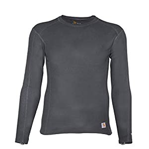 Men's Base Force Midweight Classic Crew Neck T-Shirt Long Sleeve