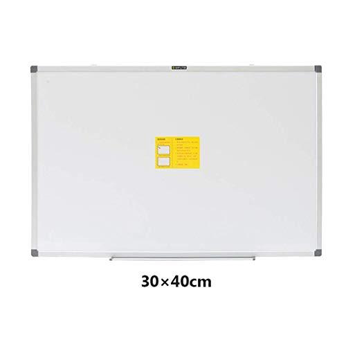 Magnetisches Trockenlösch-Whiteboard-Set Aluminiumrahmen mit verstellbarer Stiftablage und drehbarem Haken für Klassenzimmer Schule Büro