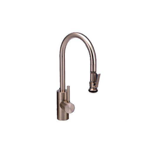 Waterstone 5800-CH Standard Reach PLP Pull Down Faucet, Chrome