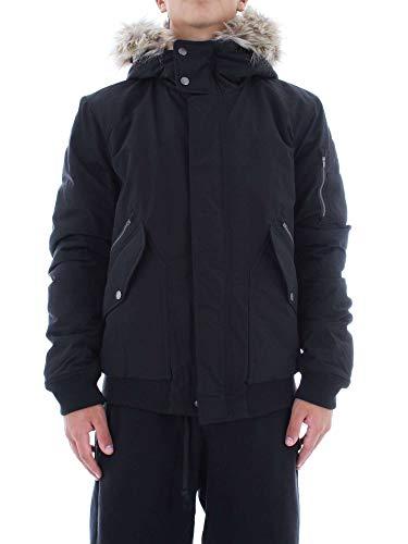 Penn-Rich Woolrich Giubbotto Nero Uniform Bomber XL