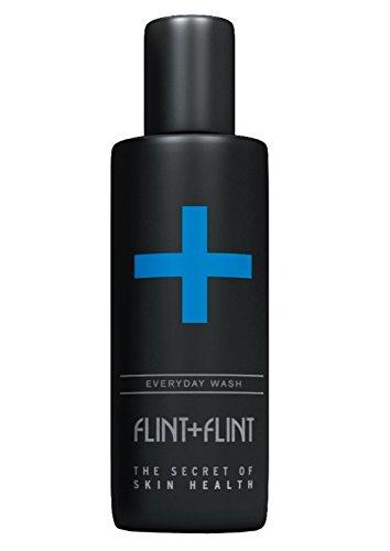 Flint + Flint Nettoyant quotidien – quotidien du visage et cou profond Nettoyant – 100 ml