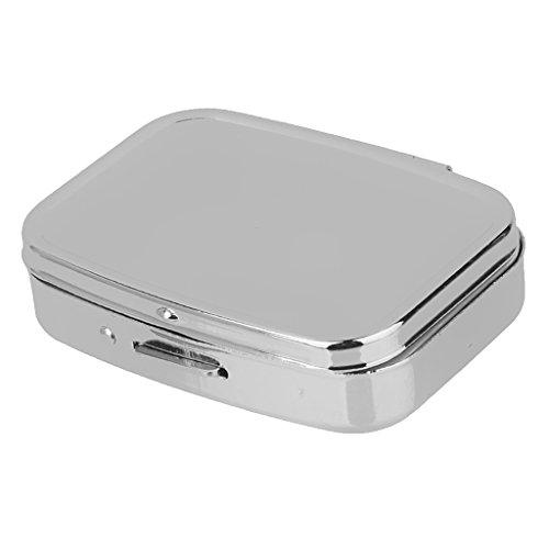 Reise Metall Pill Box Pillendose Tablettenbox Pillenbox Tablettendose Medikamentenbox