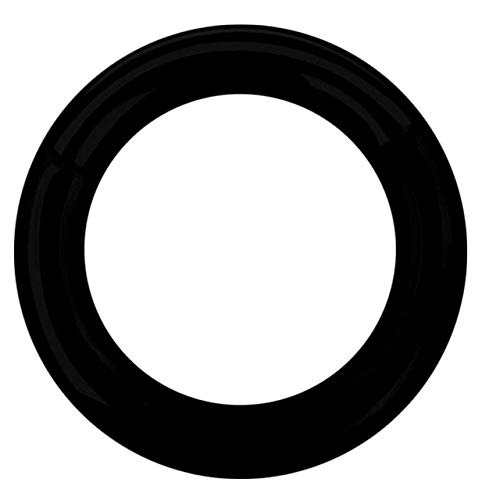 Piercing Joya Segmento Suave Anillo Clicker Negro En 3,0 MM - Negro