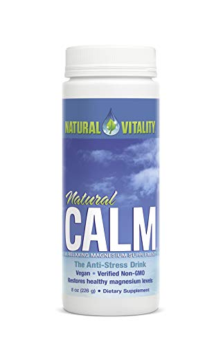 Natural Calm Magnesium Citrate Powder Unflavoured 226 Grams