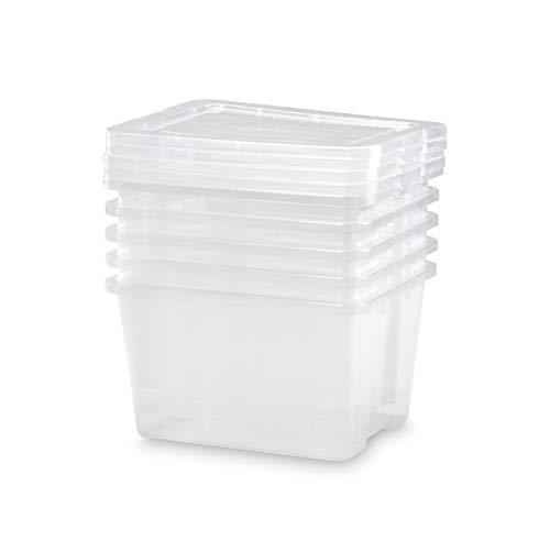 TODO HOGAR Cajas Almacenaje Plastico Grandes Multiusos Natural - 395X310X225-22 litros (5)