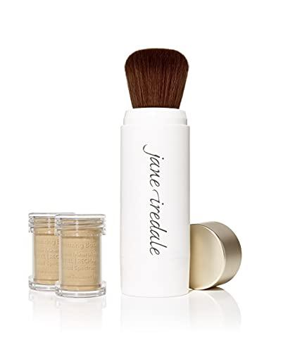 jane iredale Amazing Base Refillable Brush, Warm Sienna, 0.18 oz.