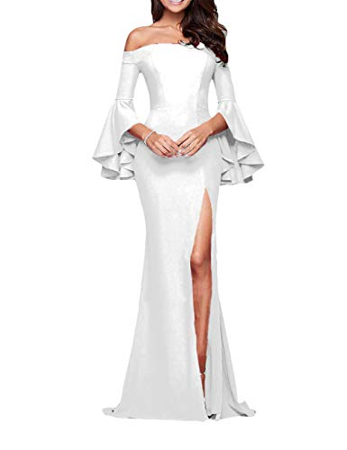 Off the Shoulder Wedding Dress With Budelo