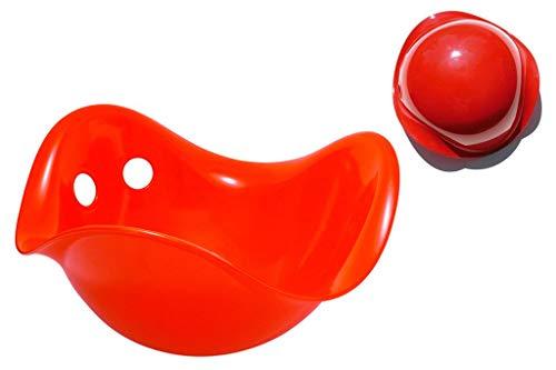 Moluk 43002 - Bilibo, rot - durch endlose Möglichkeiten des Spiels werden die Motorik und der Gleichgewichtssinn geschult