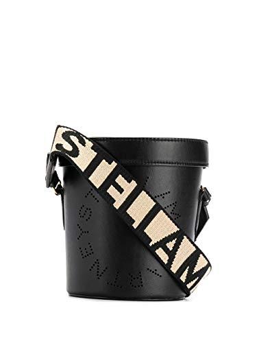 Luxury Fashion | Stella Mccartney Dames 700016W85421000 Zwart Leer Schoudertassen | Lente-zomer 20