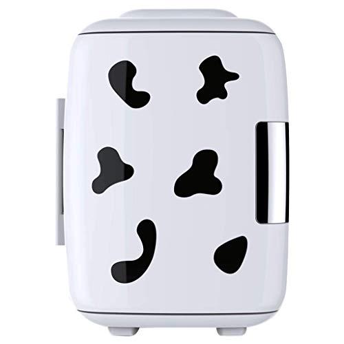 Jiongzhuo Auto-koelbox voor in de auto, dual use, draagbare kleine koeling, verwarming, geneeskunde, moedermelk, gekoeld studentenhuis, 4 liter, smart versie