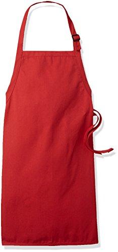 delantal cocina rojo fabricante Augusta Sportswear