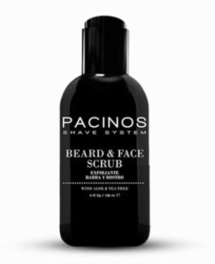 シュートこしょう主婦PACINOS Beard & Face Scrub Cleanser