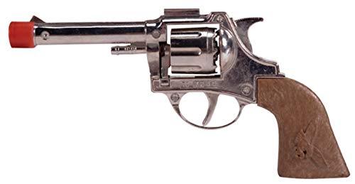 CAPRILO Juguete Infantil Decorativo de Hojalata Pistola Oeste. Armas d