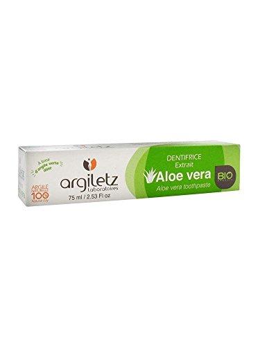 Argiletz Dentifrice Nature - Aloé Vera Bio - 75ml