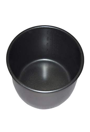 Cubeta con recubrimiento Extra Antiadherente Daikin Negro. Apta para ollas...