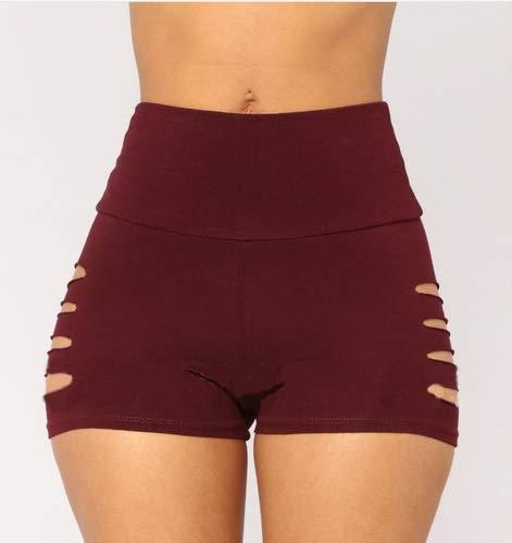 QINGJIA Moisture Wicking Pantalones de Yoga de la Mujer Entrenamiento Fitness Sport Polainas impresión de la Raya elástico Gimnasio Medias S-XL Correr Pantalones más el tamaño Permeable al Aire