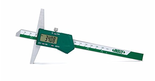 INSIZE 1141-150A Electronic Depth Gage, 0-6'/0-150mm